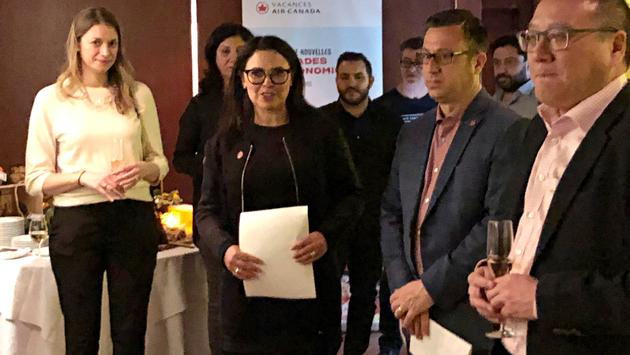 Annonce association Vacances Air Canada et Groupe Ferreira