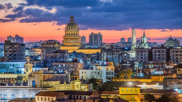 Old Town Havana, Cuba.