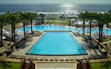 Amelia Island Omni pool view from guestroom balcony