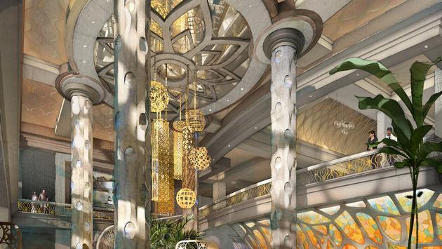 Disney's Coronado Springs Resort lobby rendering