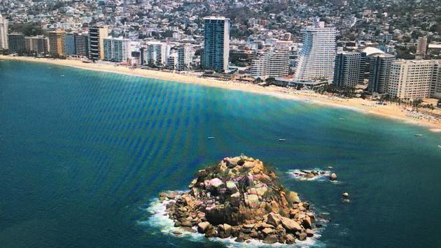 La bahía de Acapulco. (Foto de FIDETUR).