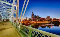 Downtown Nashville, Tennessee skyline