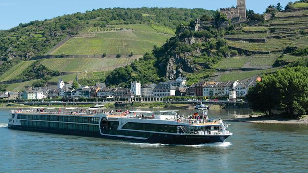Avalon Waterways'  Avalon Illumination on the Rhine River