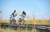 Couple Biking on Hilton Head Island