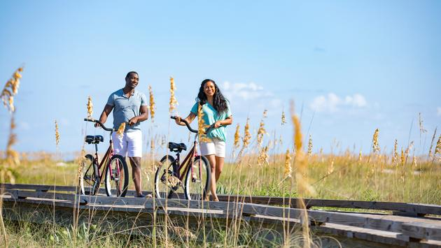 Couple Biking on Hilton Head Island