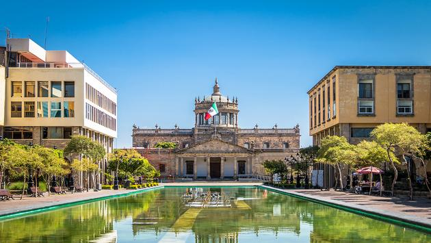 Hospicio Cabanas (Cabanas Cultural Institute) - Guadalajara, Jalisco, Mexico (Photo via diegograndi / iStock / Getty Images Plus)