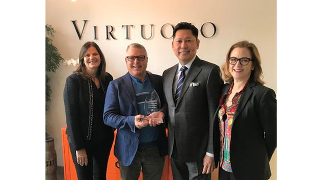 Virtuoso accepts President's Circle Award