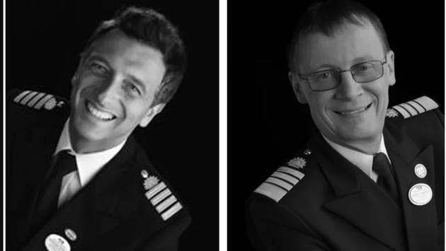 Captain Arma and Captain John Smith.