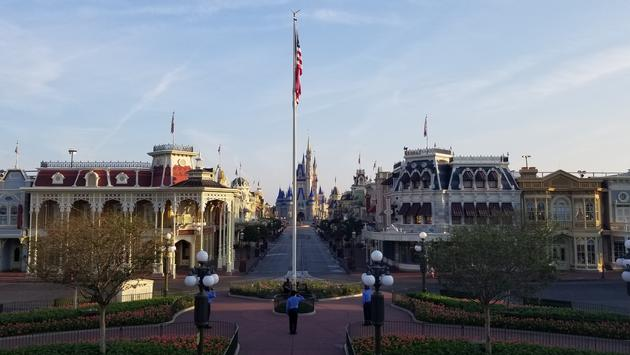 WATCH: Walt Disney World Continues Flag Ceremony at Magic Kingdom | TravelPulse