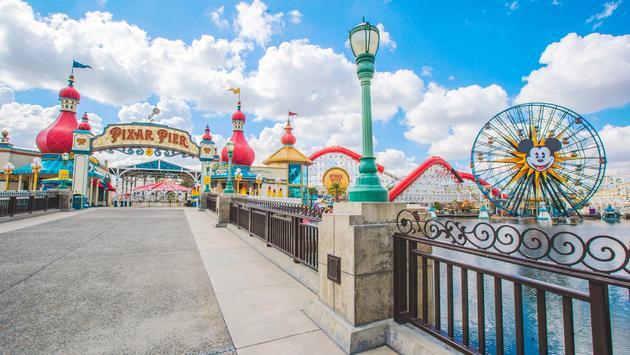 Pixar Pier at Disney's California Adventure Park