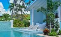 Beachfront Crystal Lagoon Swim-up Butler Room w/ Patio Tranquility Soaking Tub