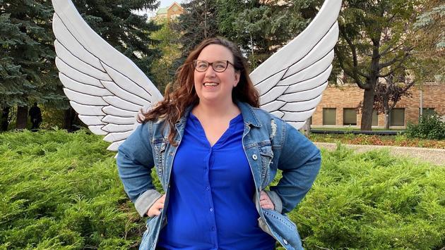 Marketing director Heather Peters