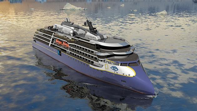 New Lindblad Expedition ship rendering.