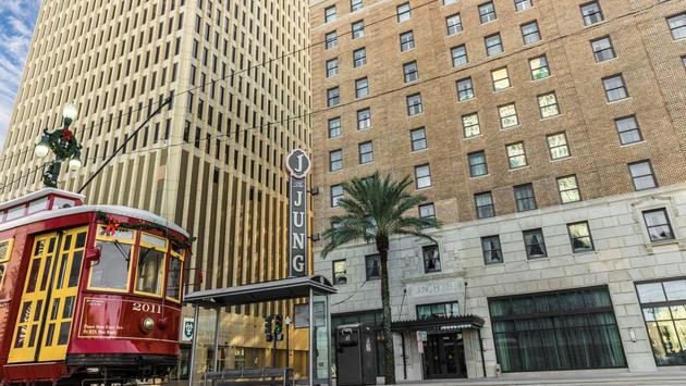 Historic Jung Hotel, New Orleans