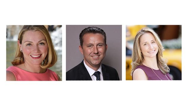 Joseph Bell, Kristy Daley, and Ashlea Varca will oversee sales for Four Seasons Resort Lanai and Four Seasons Resort Lanai at Koele. (photo courtesy of Four Seasons )