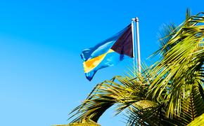 National flag of The Bahamas.
