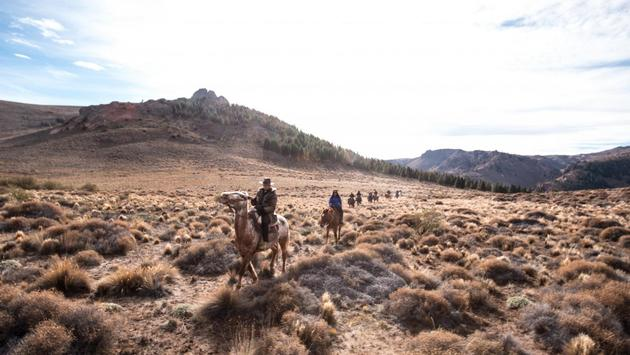 Horseback riding in Bariloche