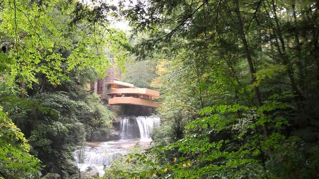 Frank Lloyd Wright's Fallingwater home