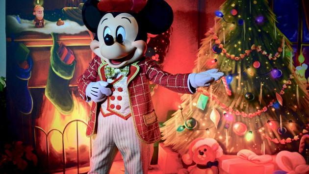 Mickey at his Very Merry Christmas Party