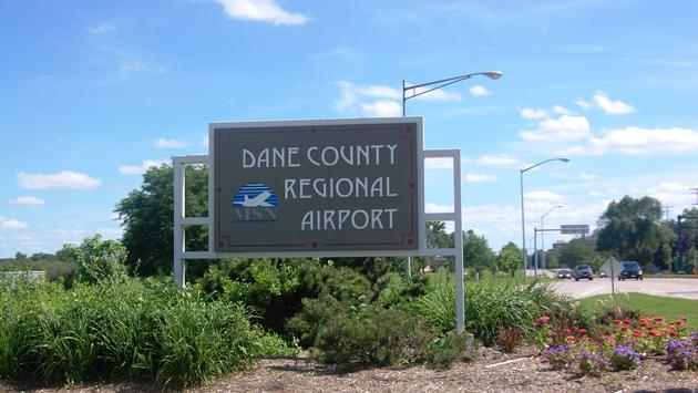Dane County Regional Airport in Wisconsin.