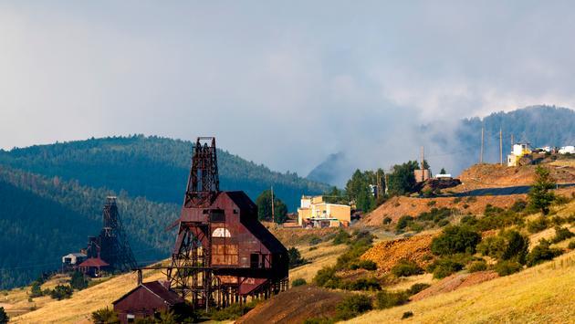 Victor, Colorado, mine