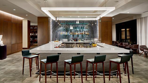 AC Hotel Cleveland Lounge