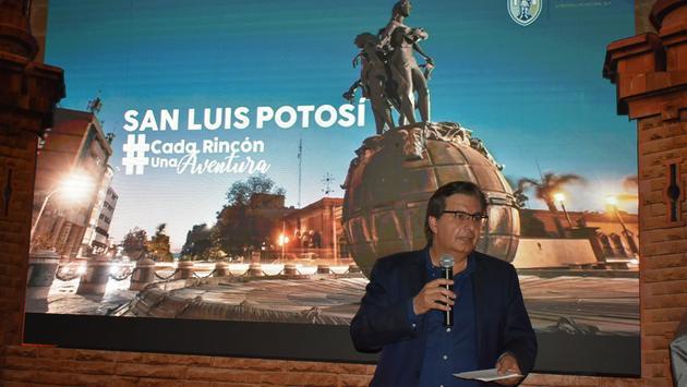 El Secretario de Turismo de San Luis Potosí, Arturo Esper Sulaiman