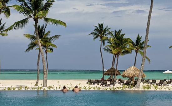 Dominican Republic  pool and beach