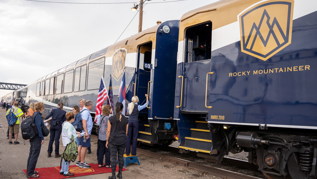 Rocky Mountaineer celebrates its inaugural route launch in the Southwest United States