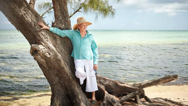 Martha Stewart in the Caribbean