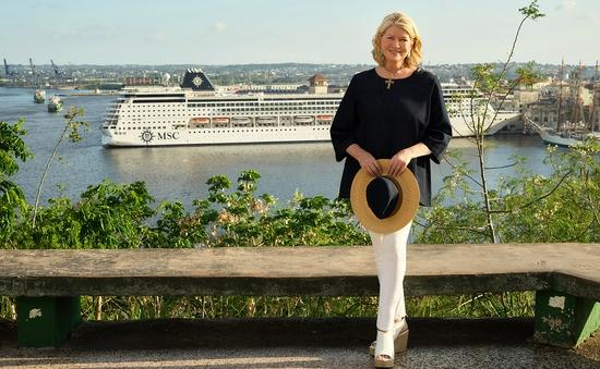 Martha Stewart and MSC Cruises