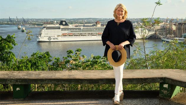 Martha Stewart and MSC Cruises