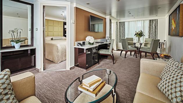 Navigator Suite aboard Seven Seas Navigator, Regent Seven Seas Cruises