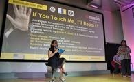 A sexual harassment seminar at the US Embassy in Jakarta