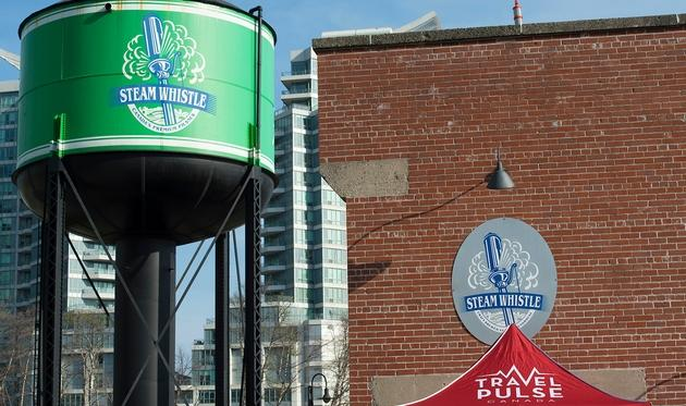 Steam Whistle Brewing exterior sign