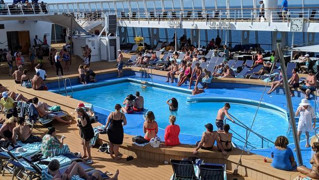 Norwegian Sky Cruise Pool