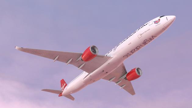 Virgin, Atlantic, Airbus