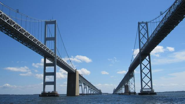 Maryland's Chesapeake Bay Bridge