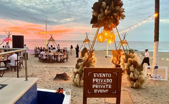 Private event for travel advisors at Hyatt Ziva Puerto Vallarta