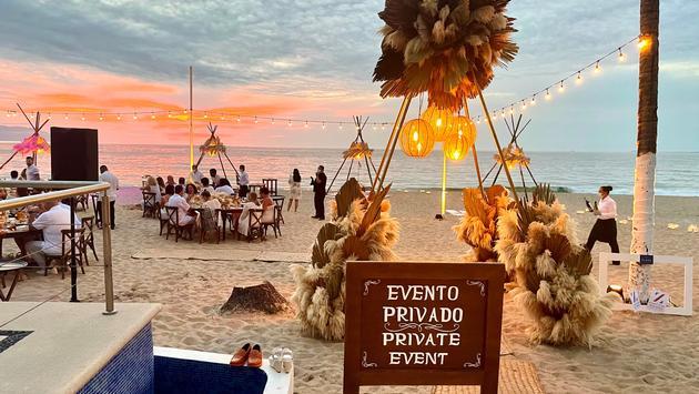 Private event for travel advisors at Hyatt Ziva Puerto Vallarta