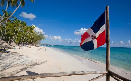 A beautiful beach in the Dominican Republic