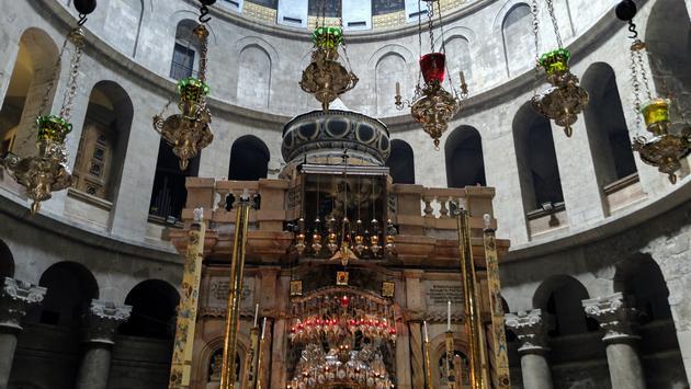 church, holy sepulchre, jesus, jerusalem