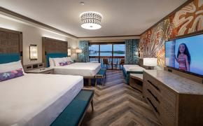 Walt Disney World's Polynesian Village Resort Updated Room