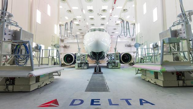Delta's New A220 Aircraft