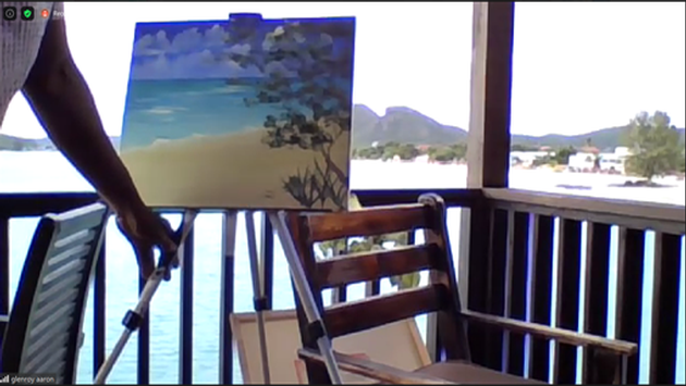 Paint Night Antigua-et-Barbuda