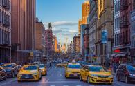 New York City's TriBeCa streets.