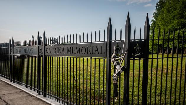 Hurricane Katrina Memorial, New Orleans, cemetery