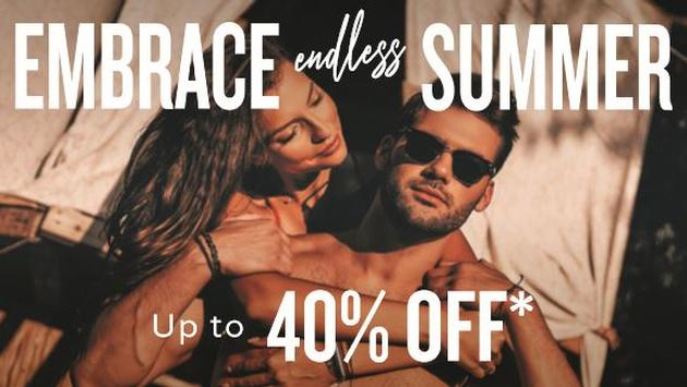 Embrace Endless Summer: Up to 40% Off