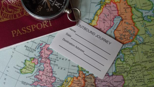 Passport and Compass, Travel, Globe, World, Travel Agent, Travel Agents