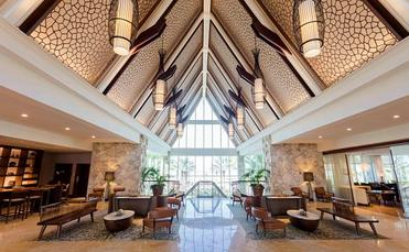 JW Marriott Marco Island Beach Resort Florida lobby